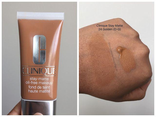 base stay matte oil free makeup de clinique