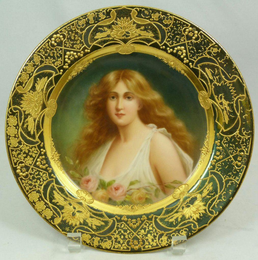Royal Vienna   Porcelana antiga, Pratos porcelana e Prato