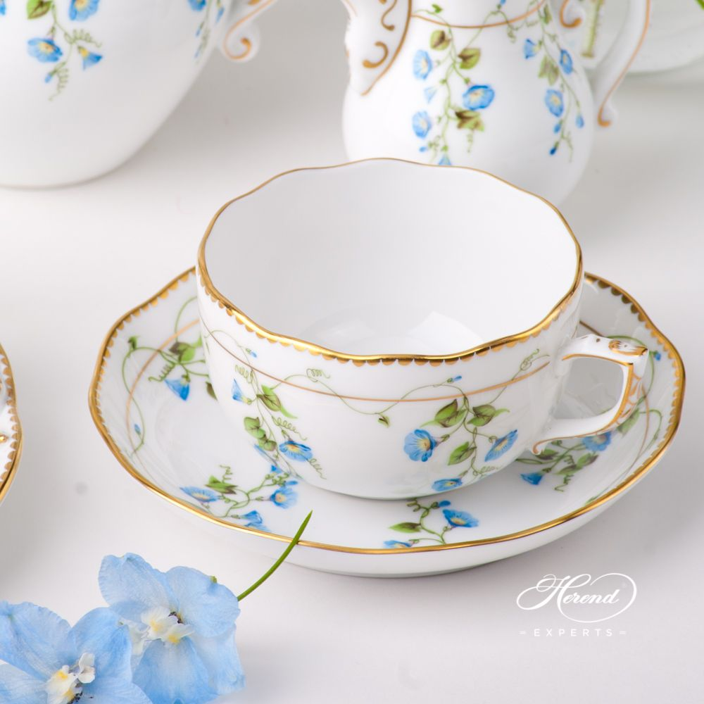 Tea Set for 1 Person - Nyon | Herend Experts #teasets