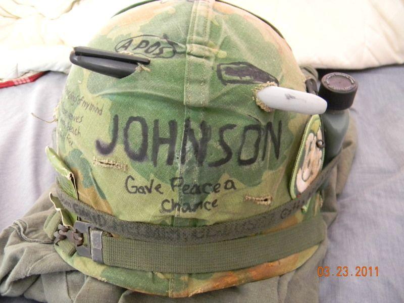 Dating Vietnam War Helmet Covers