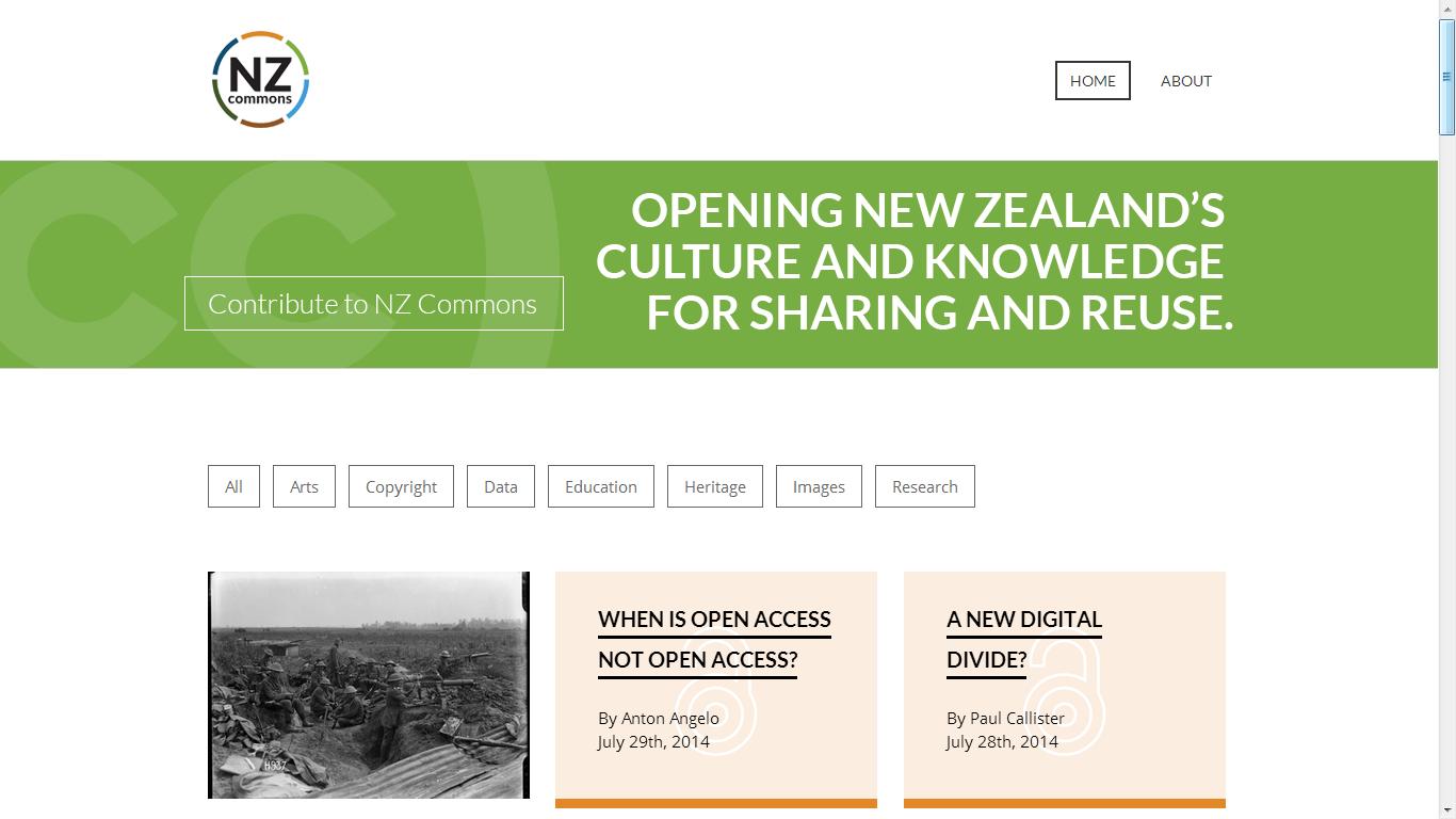 Nz Commons Screenshot