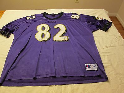 170b098f090 ... SHANNON SHARPE Baltimore Ravens short sleeve football jersey adult size  2XL XXL ...