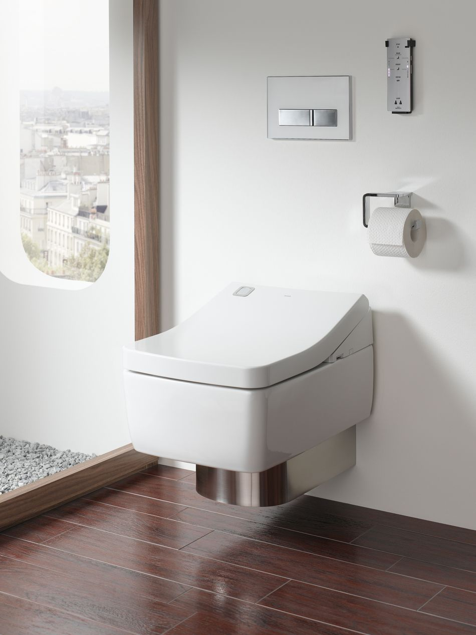 Smart Toilet And Bidet With Automatic Lift Of The Lid Various