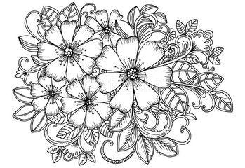 Pin Di Maria Milone Su Disegni Fiori Disegnati A Matita Mazzo Di