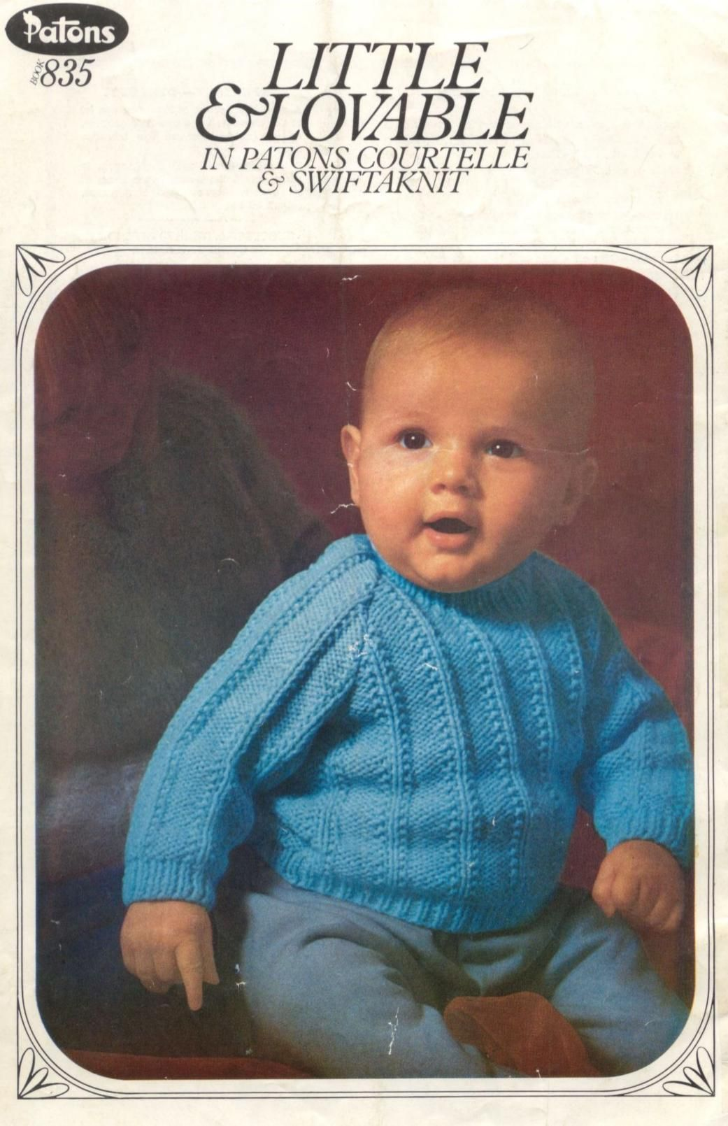 Patons 835 Little and Lovable | knits | Pinterest | Baby knitting ...