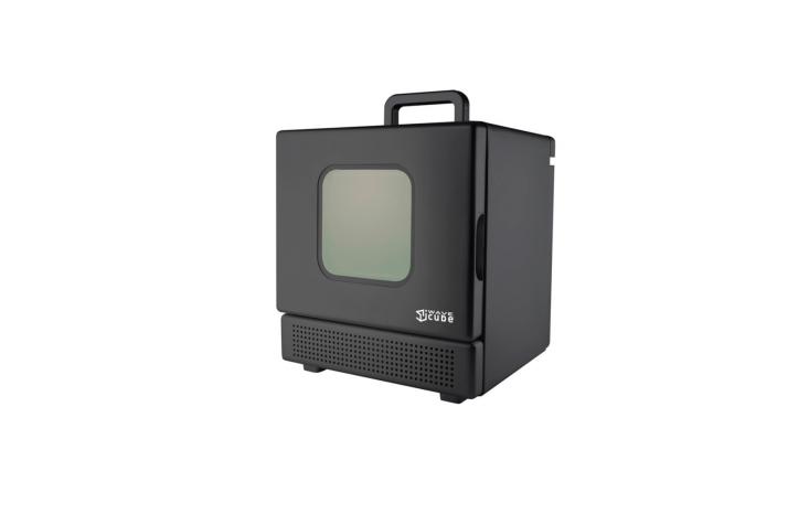Iwavecube Iw600 600 Watt Personal Desktop Microwave Oven