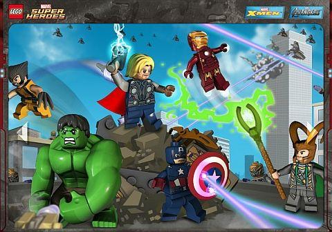 Lego Marvel Superheroes  Web site