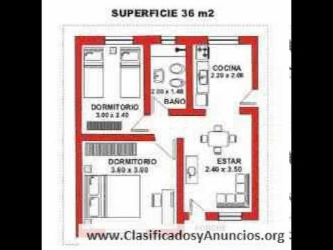 Distribucion de casita de madera de 48 metros cuadrados for Distribucion apartamentos pequenos