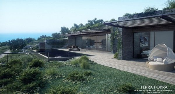 Good Corsican Mountain View Villas Visualized