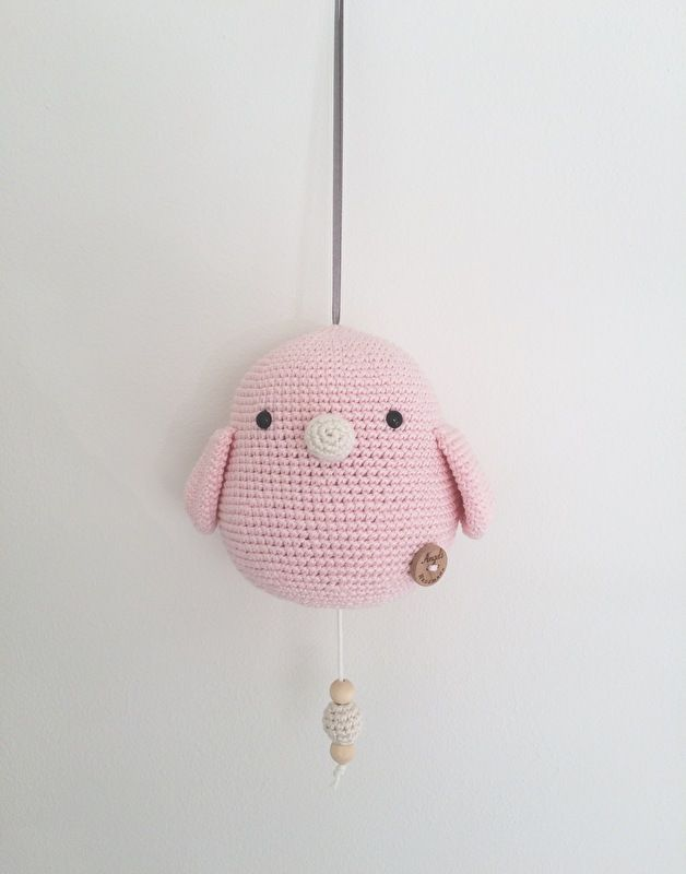 Gehaakt Muziekdoosje Vogel Kleinkind Pinterest Croché