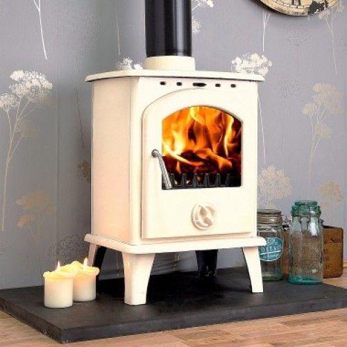 Blanco 6kw white enamel wood burning stove - Blanco 6kw White Enamel Wood Burning Stove Ideas For The House