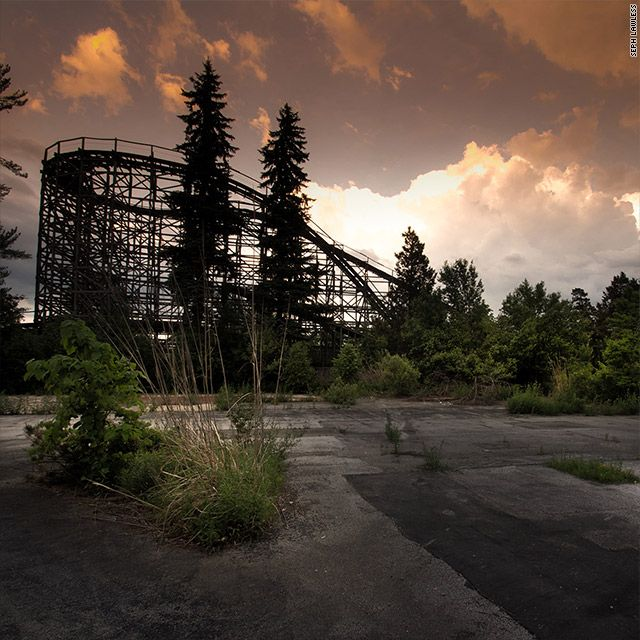 Scenes From Abandoned Amusement Parks