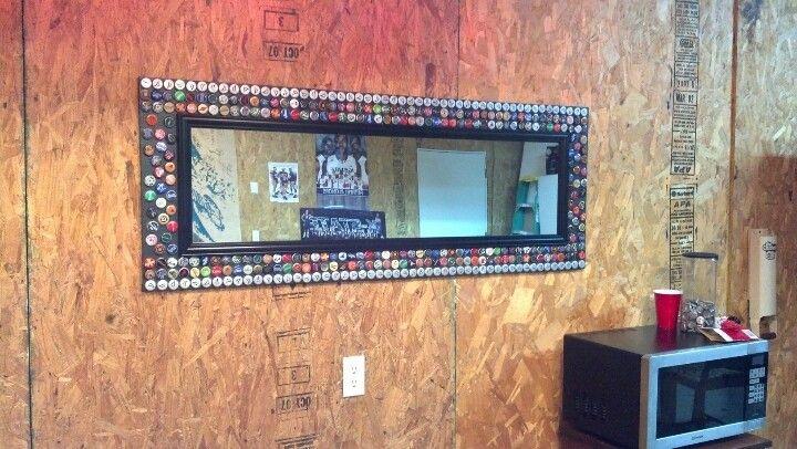 Mirror We Made To Go Behind The Bar Cheap Closet Door