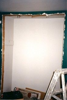 Widening A Closet Door Thumb And Hammer Closet Doors Framing A Closet Hallway Closet
