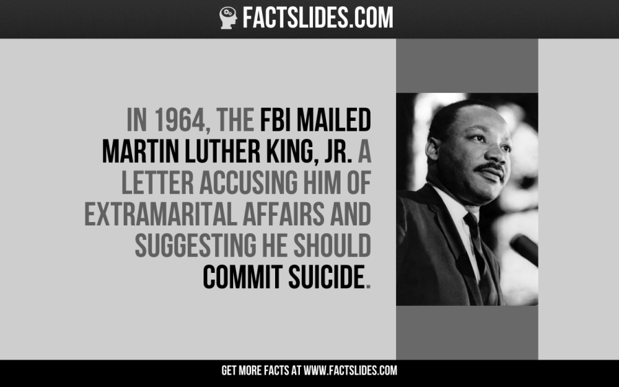 In 1964 The Fbi Mailed Martin Luther King Jr A Letter Accusing
