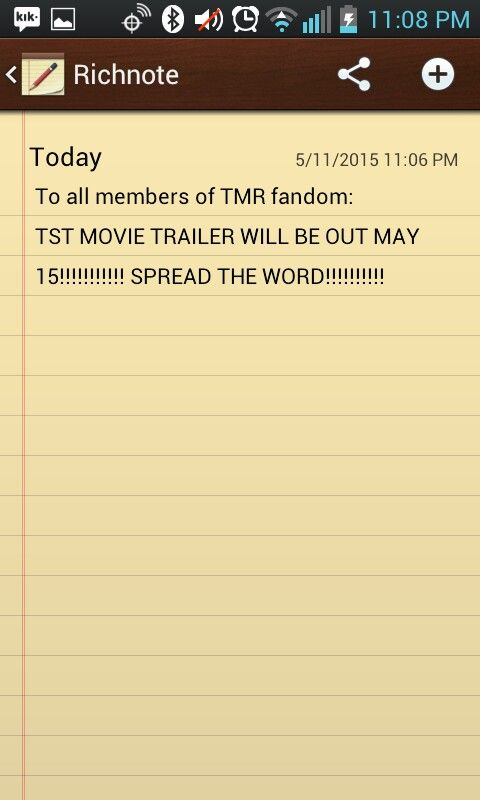SPREAD THE WORD!!!!