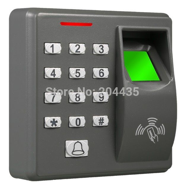Biometric Fingerprint Access Control Machine Electric Rfid Reader Scanner Sensor Code System For Doo Door Lock System Biometric Door Lock Access Control System