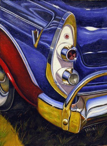 Old Fashioned Cars >> Vic Vicini OIL | Car painting, Truck art, Car