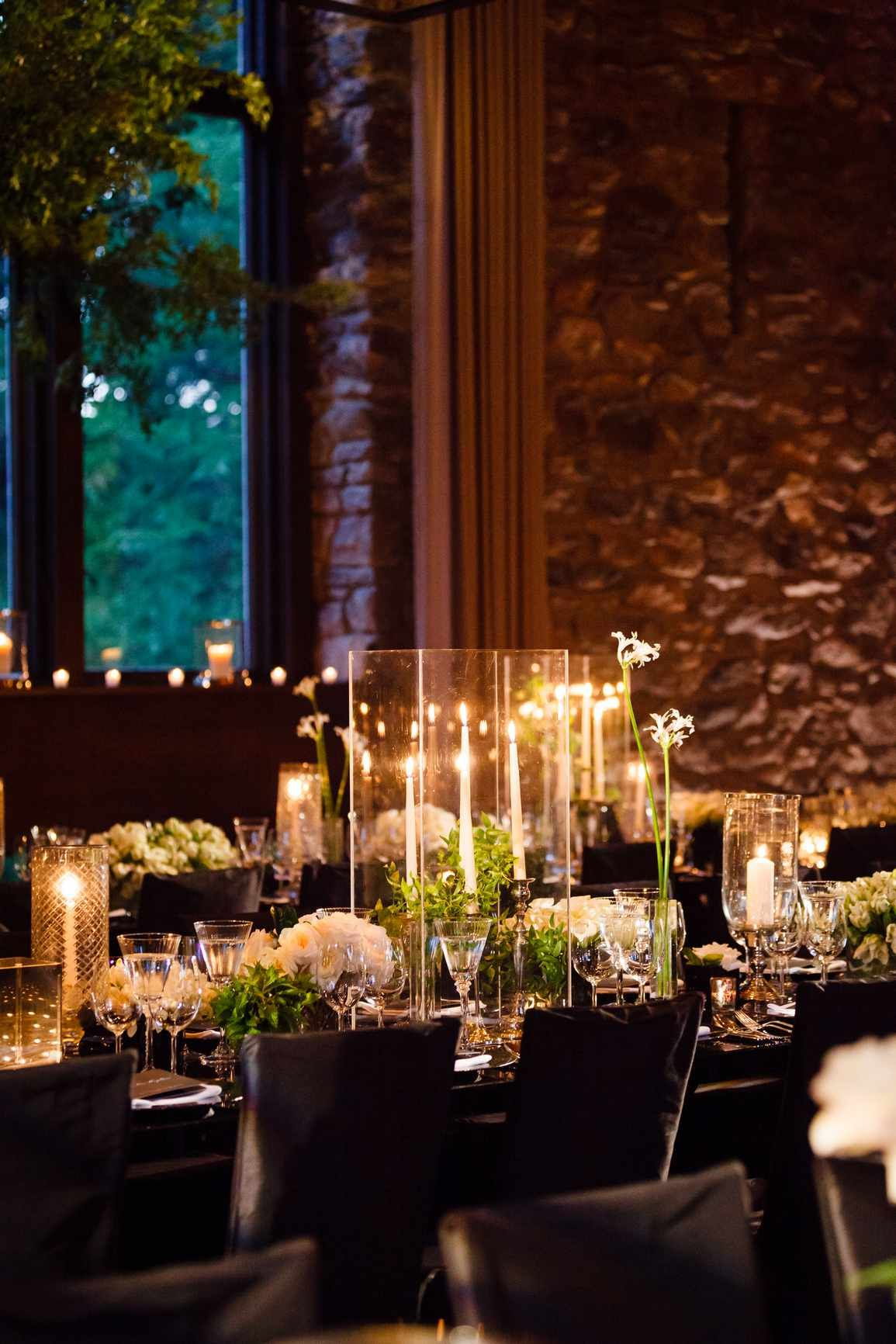 A Sophisticated Countryside Wedding At Blue Hill At Stone Barns Candle Lit Wedding Stone Barns Countryside Wedding