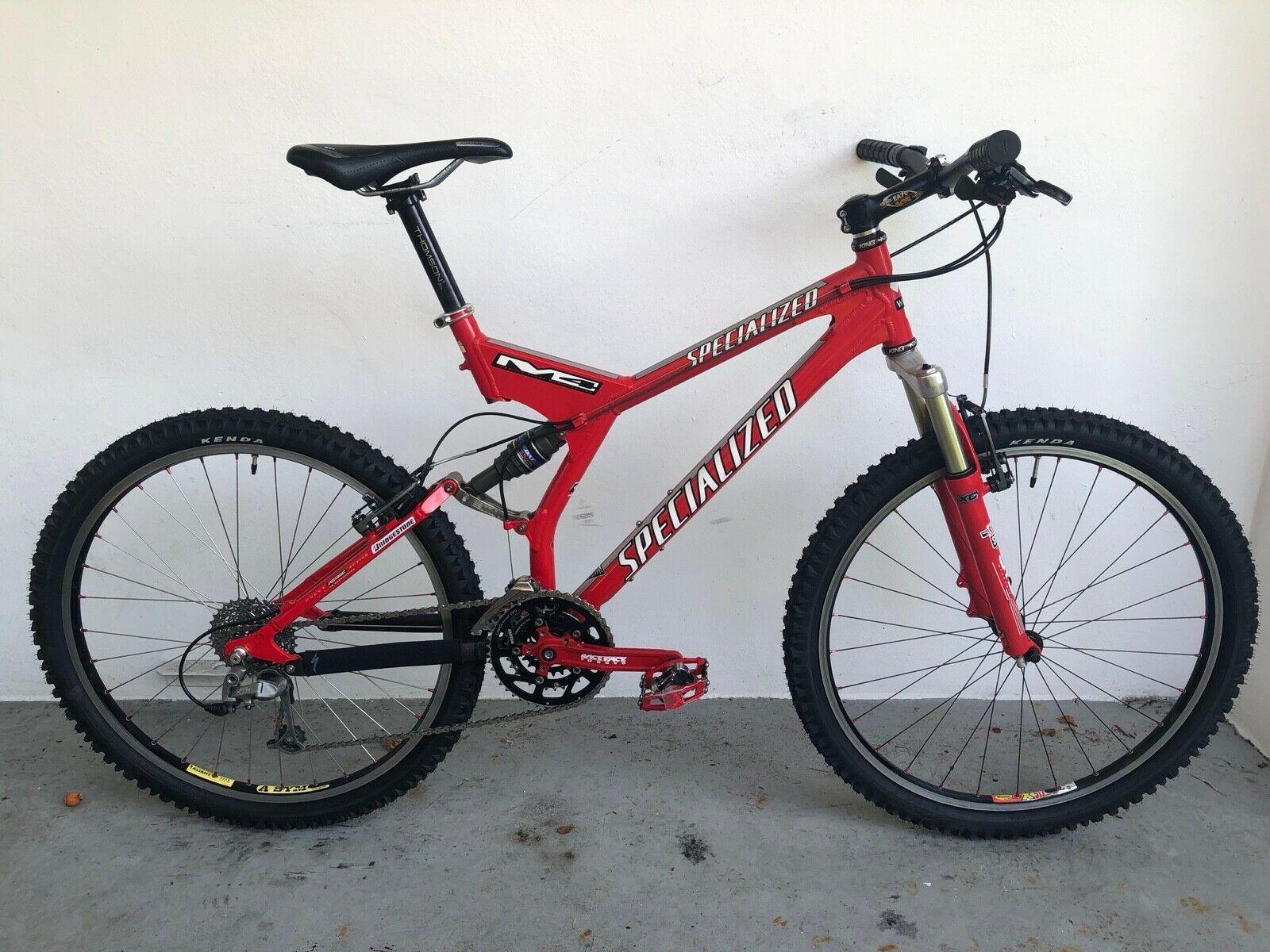 2000 Specialized S Works Fsr Xc Full Suspension Mountain Bike