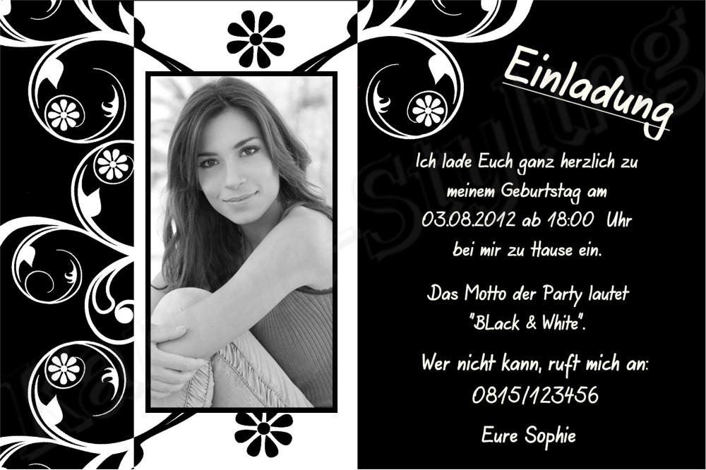 Einladung 18 Geburtstag Selber Basteln Einladungen Geburtstag In 2020 Einladung Geburtstag Einladung 30 Geburtstag Einladung Geburtstag Text