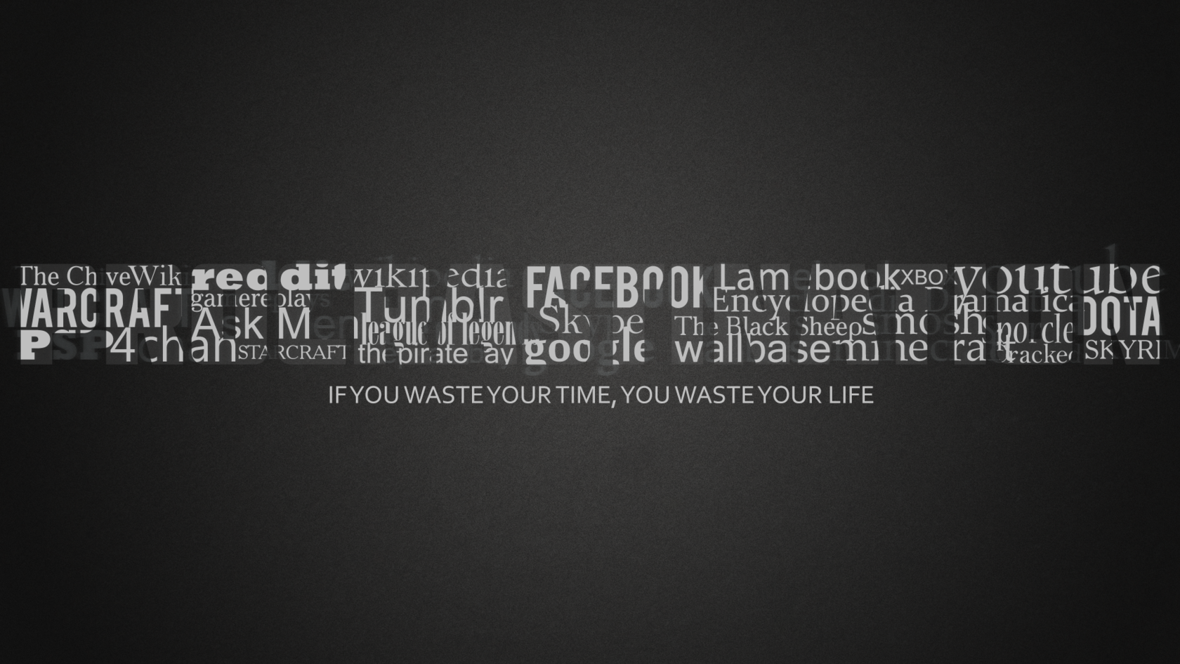 Motivational Quote Words Desktop WallPaper HD    Http://imashon.com/typography