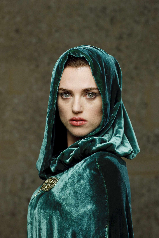 Katie McGrath as Morgana in BBCs Merlin (2008-2012