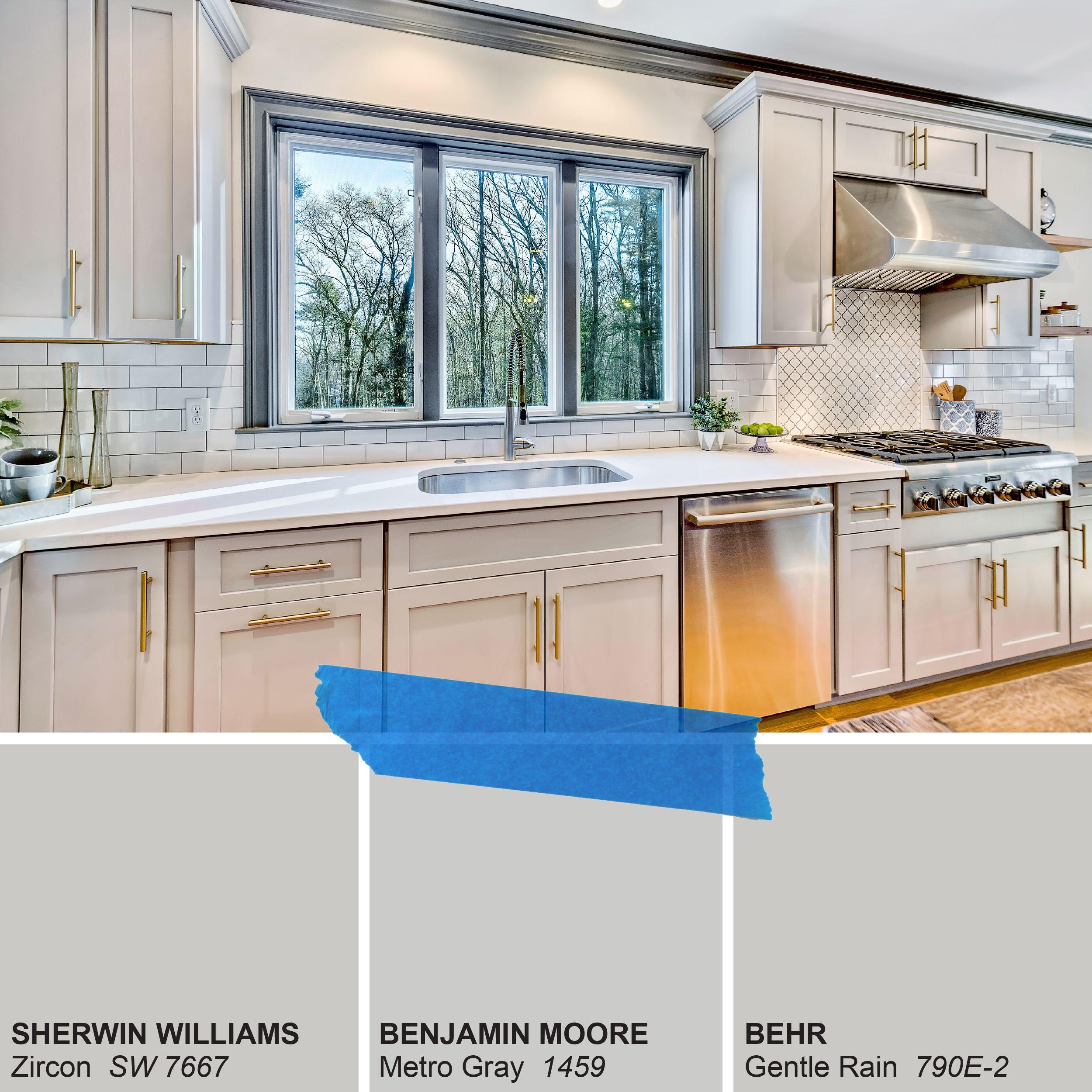 Starmark Cabinets Cabinet Color Kitchen Cabinet Color Frost Sherwin Williams Zircon Zi Kitchen Cabinet Colors White Kitchen Design Green Kitchen Designs