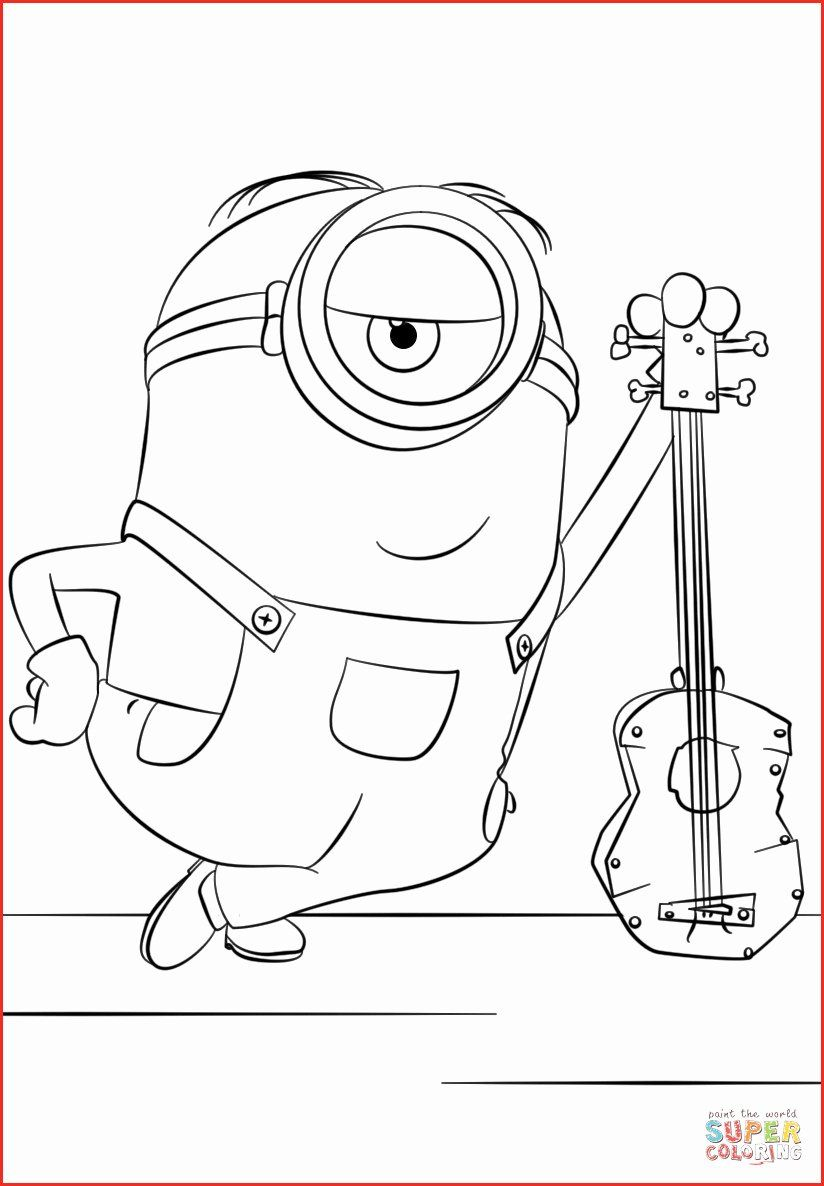Coloring Picture Of Minions Fresh Free Printable Minion Coloring Pages Minion Printable In 2020 Minions Coloring Pages Minion Coloring Pages Coloring Pages