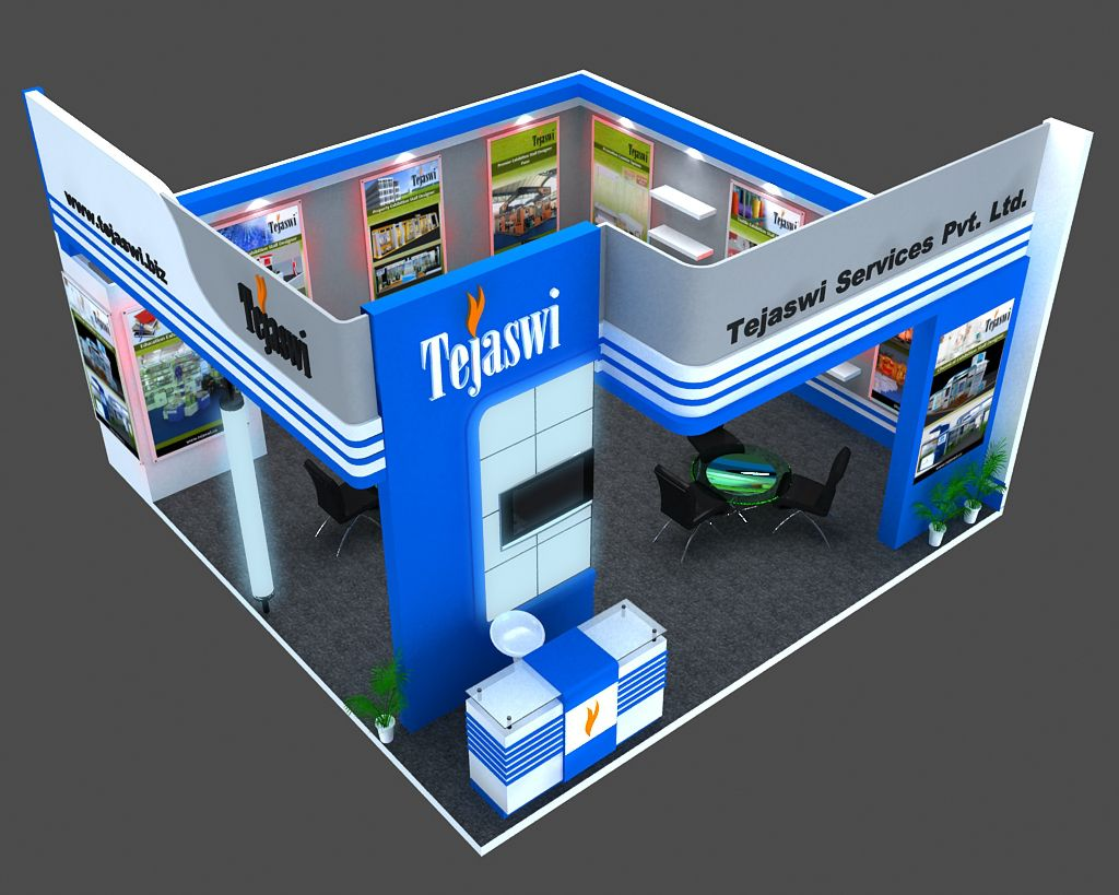 3d Exhibition Stall Design Job : D exhibition stall design