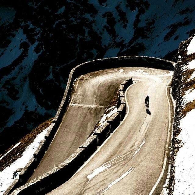 Love the climb.