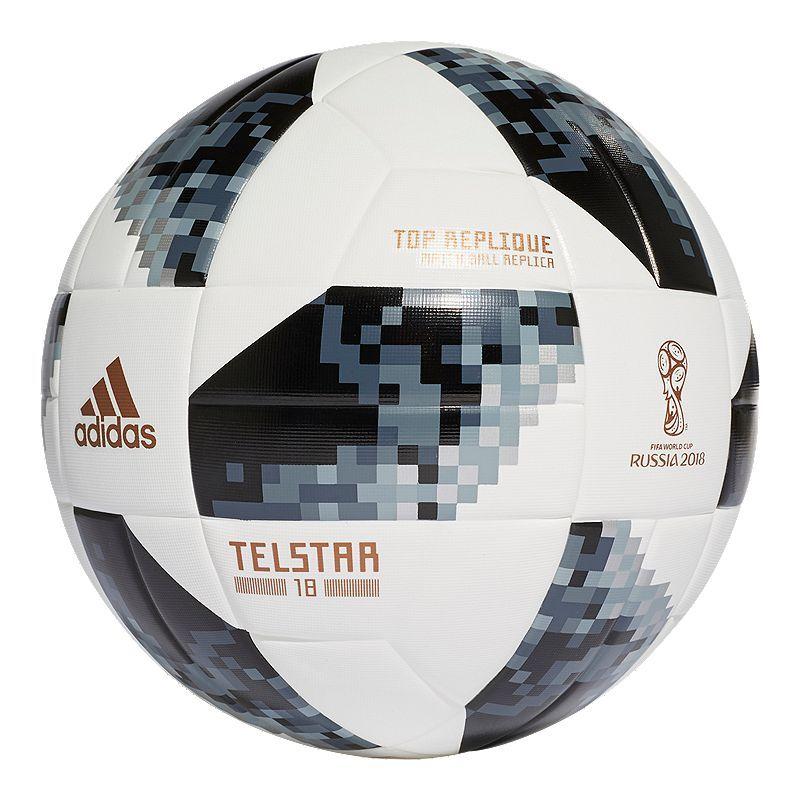 Adidas World Cup 2018 Top Replique Soccer Ball In 2019 Soccer World Cup Fifa World Cup