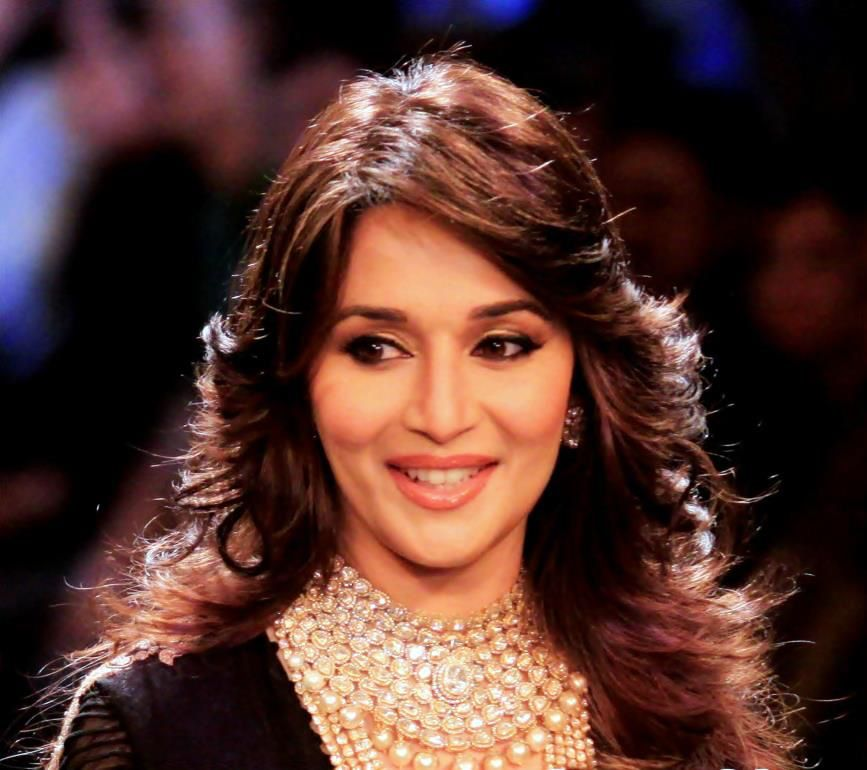 Beautiful Bollywood Actress Madhuri Dixit I Love Her Hairstyle