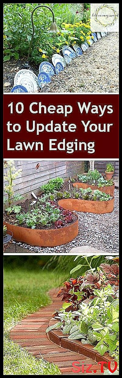 Photo of 10 cheap ways to update your lawn edges Lawn Edges Lawn Edges DIY-P …