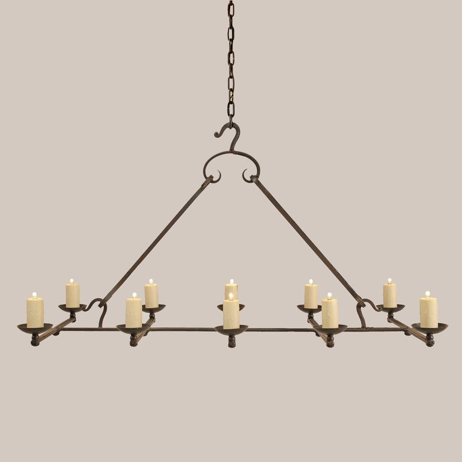 2105 Carmel Chandelier Paul Ferrante Art Lighting