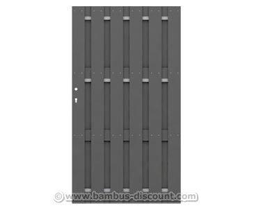 Zaun Tor Fur Jumbo Wpc Sichtschutzwand Gunstig Kaufen Bei Ast Bambus