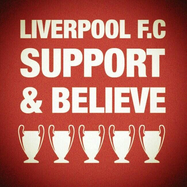 The new season is here... Support and Believe!! #LFC