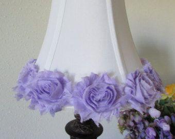 34 Lavender Rose Lamp Shade Shabby Chic Lamp Shade Nursery Lamp Shade Shabby Chic Lamp Shades Rose Lamp Shade Modern Lamp Shades