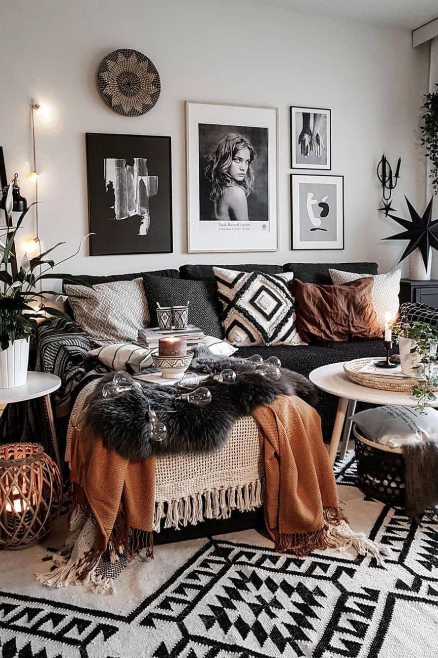 20 Bedroom Designs for a NATURE LOVER   Elcune   Living room decor ...