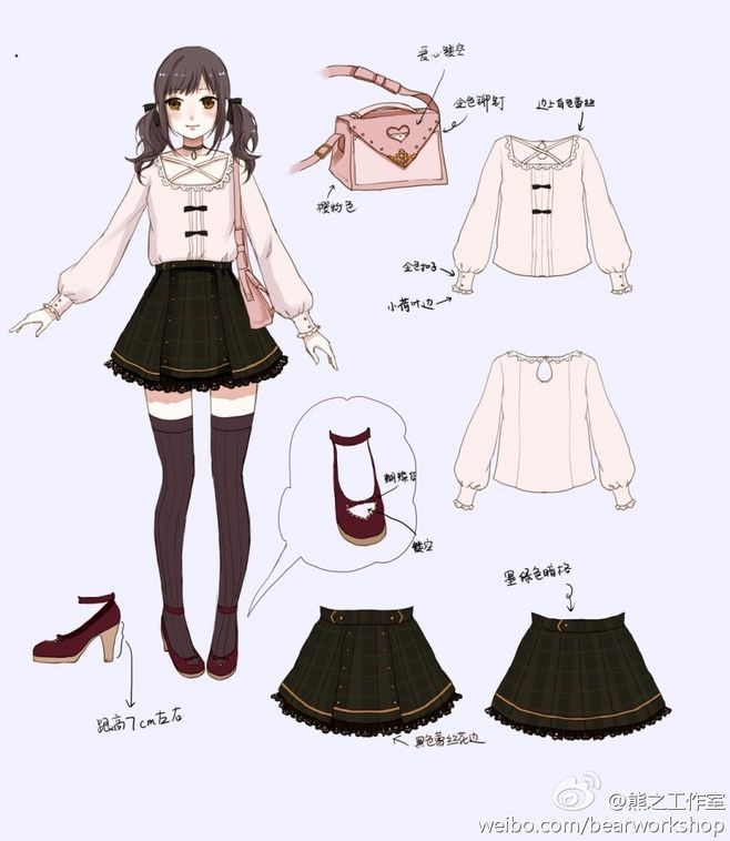 Character Design Outfits : Cuuuute anime fashion pinterest drawings and
