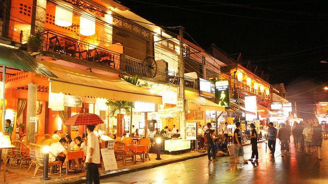 Siem Reap, gran ciudad de Camboya