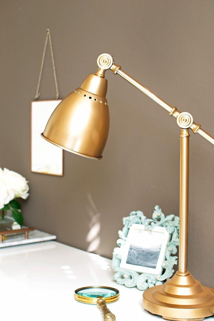 gold floor lamp ikea