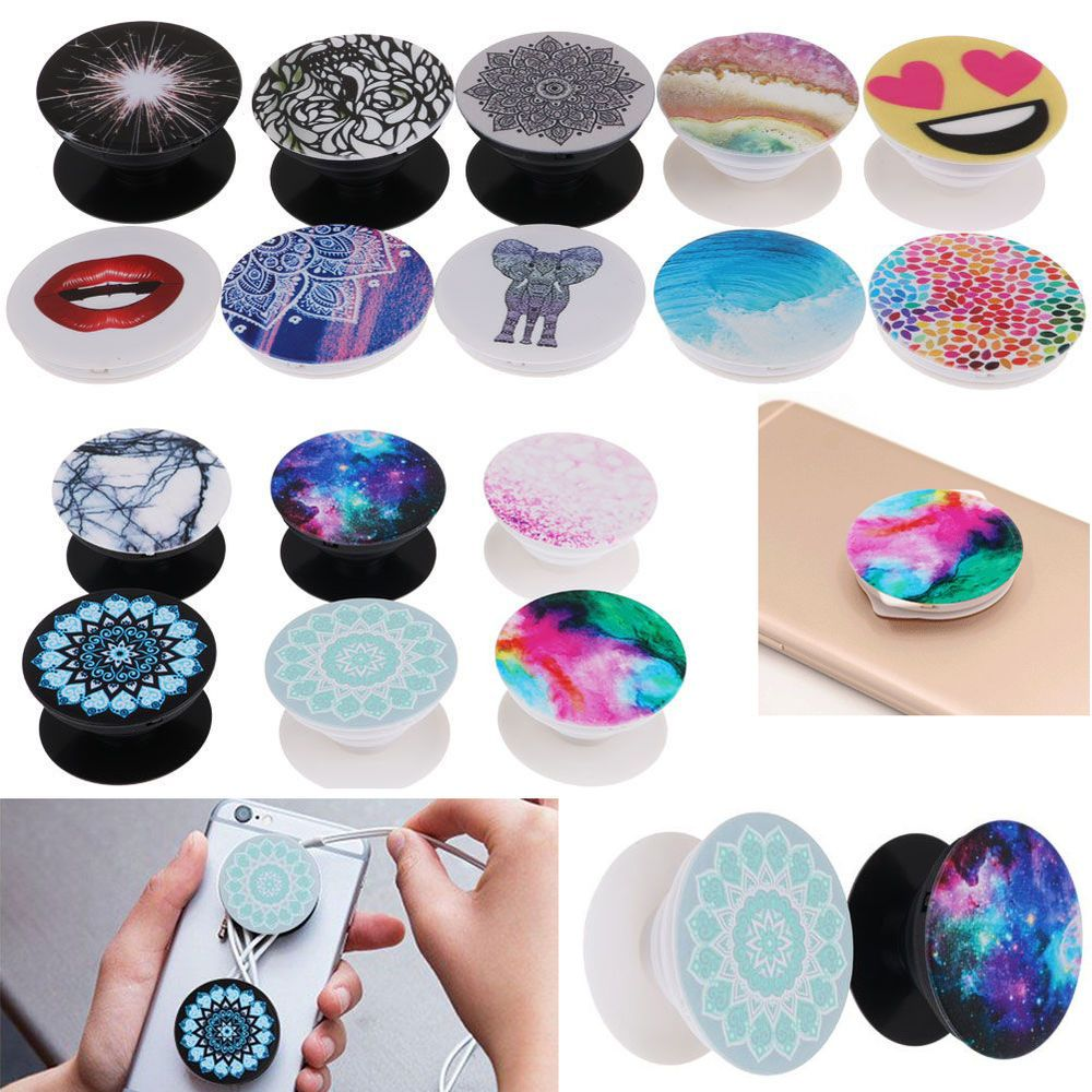 save off 187e4 ee302 Popsockets Fashion Phone Holder Expanding Stand Grip Pop Mount For ...