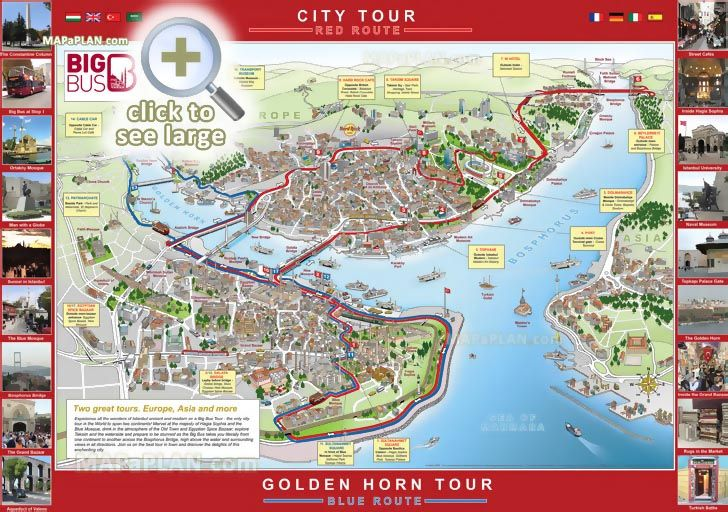 big bus city sightseeing hop on hop off double decker open top coach - best of large printable world map pdf