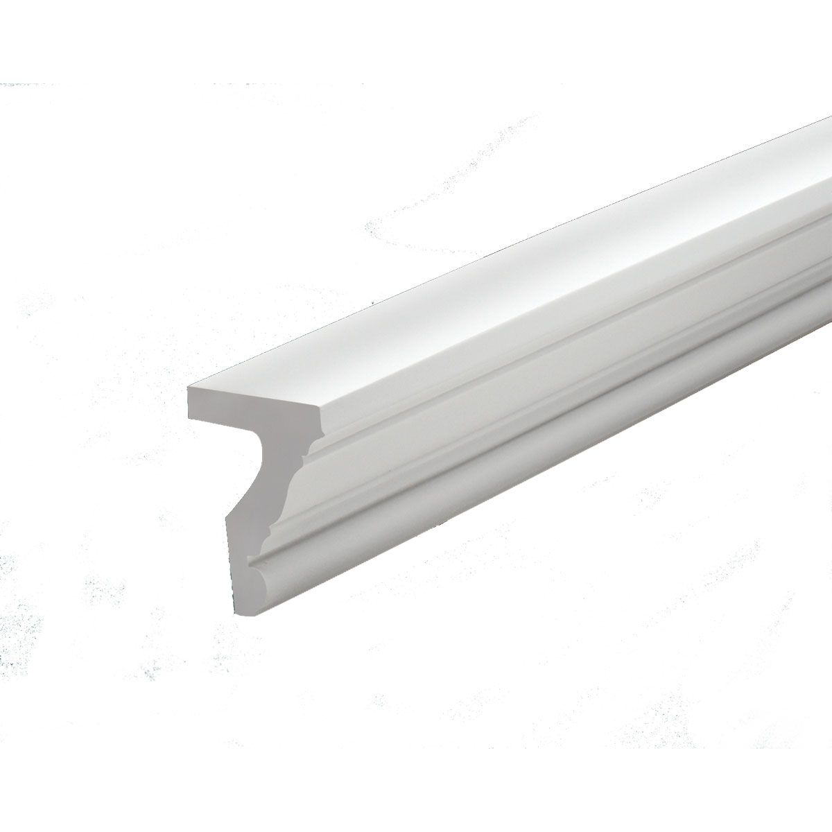 5 1 2 Inch H X 4 3 8 Inch P X 12 Apos Length Fascia Moulding Wall Molding Fireplace Remodel Fascia