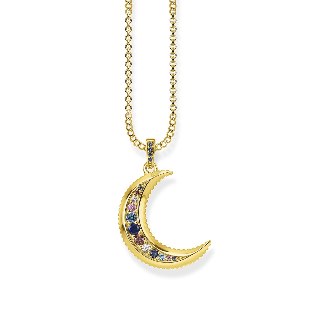 Necklace Royalty Moon Thomas Sabo Moon Necklace Jewelry