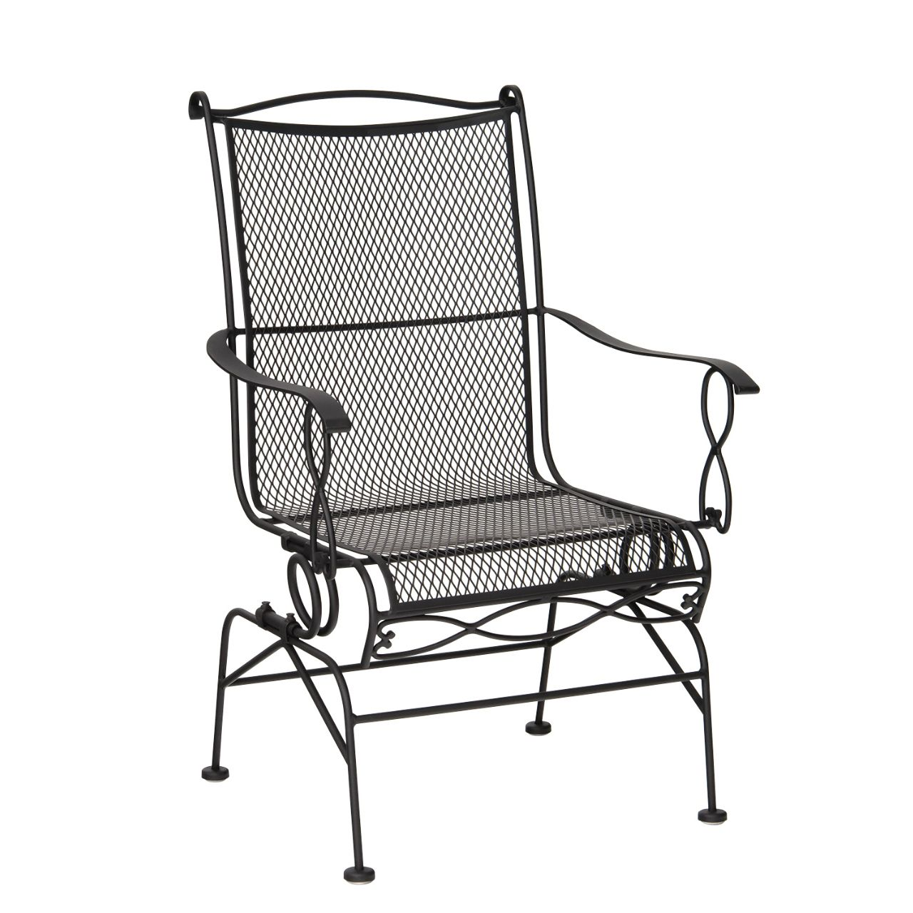Rialto Coil Spring Dining Chair American Home