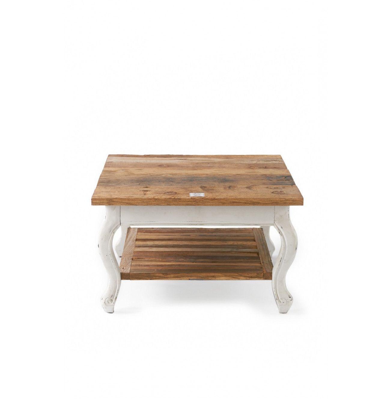 Driftwood Coffee Table 70x70 Wohnzimmertische Couchtisch