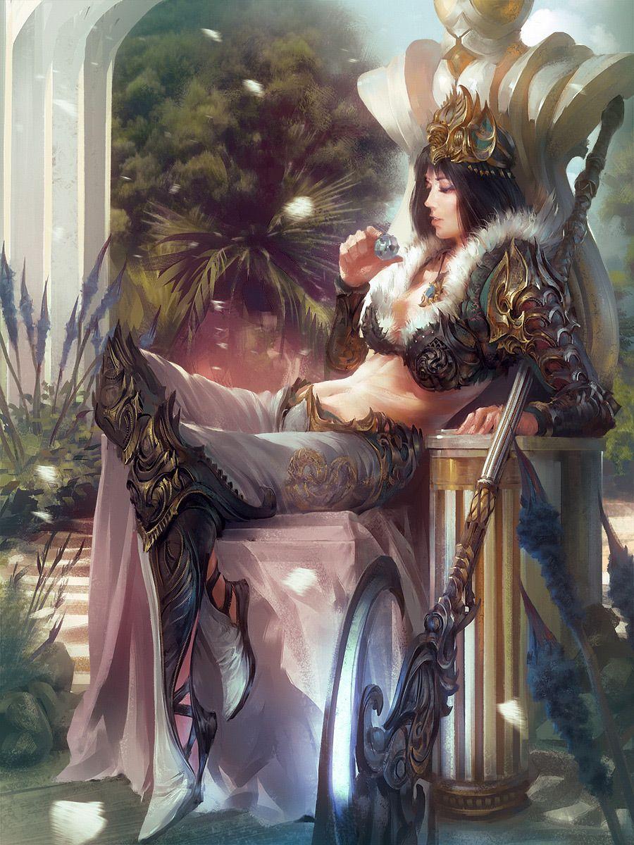Fantasy Character Concept Art Goddess