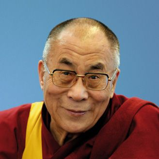 His Holiness Tenzin Gyatso, Fourteenth Dalai Lama of Tibet - Quite possibly the wisest, bravest, and most compassionate man on this Earth